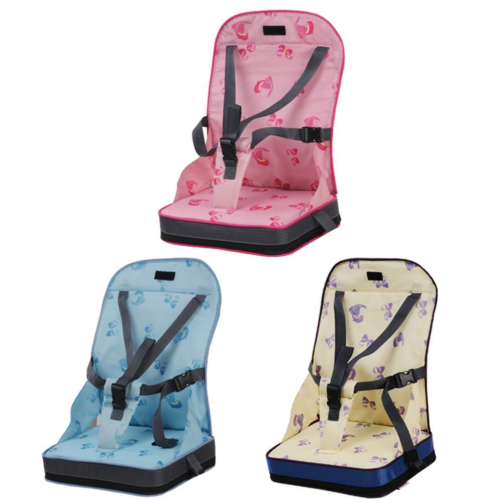 Baby Dining Chair Bag Portable Chair Portable Bag Bib Mummy Bag Travel Foldable Safety Belt Feeding High Chair