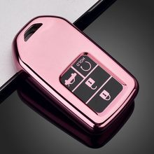 Car Remote Key Case Full Cover Holder For Honda CRV Pilot Accord Civic Fit HR-V Odyssey 2016 2017 Accessories Key Shell Cover
