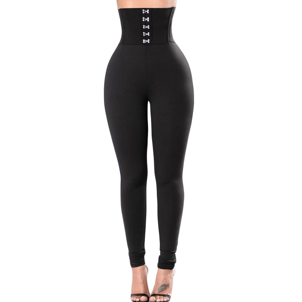 New Style Fashion Sexy Women Solid Fitness Casual   Leggings   Ankle Length Stretch High Waist Empire   Leggings