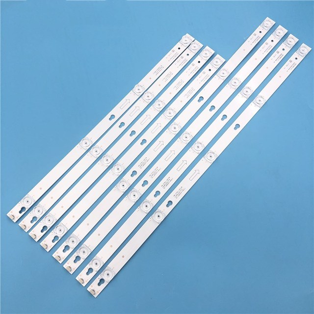 Retroiluminación LED lámpara de tira para TCL L55P2 UD YHE 4C LB5504 YH01J LVU550CS0T 4C LB5505 HR04J LB5504 HR13J B55A858U L55F3800A