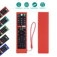Capas de controle remoto para sony RM-ED050 RMT-TX200C RMT-TX102U RMT-TX100D RM-ED053 RM-ED060 RMF-TX300C à prova de choque casos de silicone