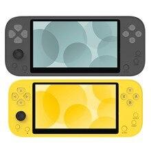 Console de jeu vidéo rétro Portable X20, écran IPS de 5.1 pouces, compacte 8 go intégrée + carte TF