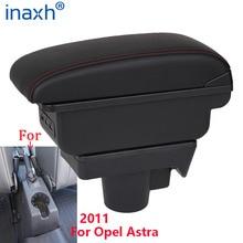 Para opel astra caixa de braço opel astra h braço do carro 2011 acessórios montagem interior caixa armazenamento usb fácil instalar