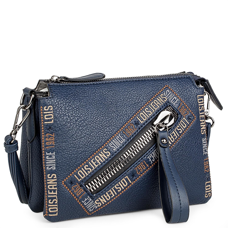 Lois Modelo Gunters Bolso Pequeño Bandolera con bolsillo cremallera delantero para la mujer urbana que quiere comodidad. 1