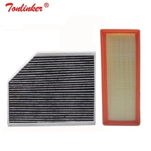 Cabin Filter Air Filter 2Pcs For Audi A4 B8 A4 Avant 2007 2015/A4 Allroad B8 2009 2016/S4 RS4 quattro 2008 2015 Model Filter Set