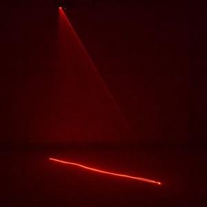 Image 5 - AUCD מיני IR מרחוק 8CH DMX 100mW אדום לייזר DPSS מקרן אורות דיסקו DJ חג המולד המפלגה להראות קרן סריקה שלב תאורה DM R100