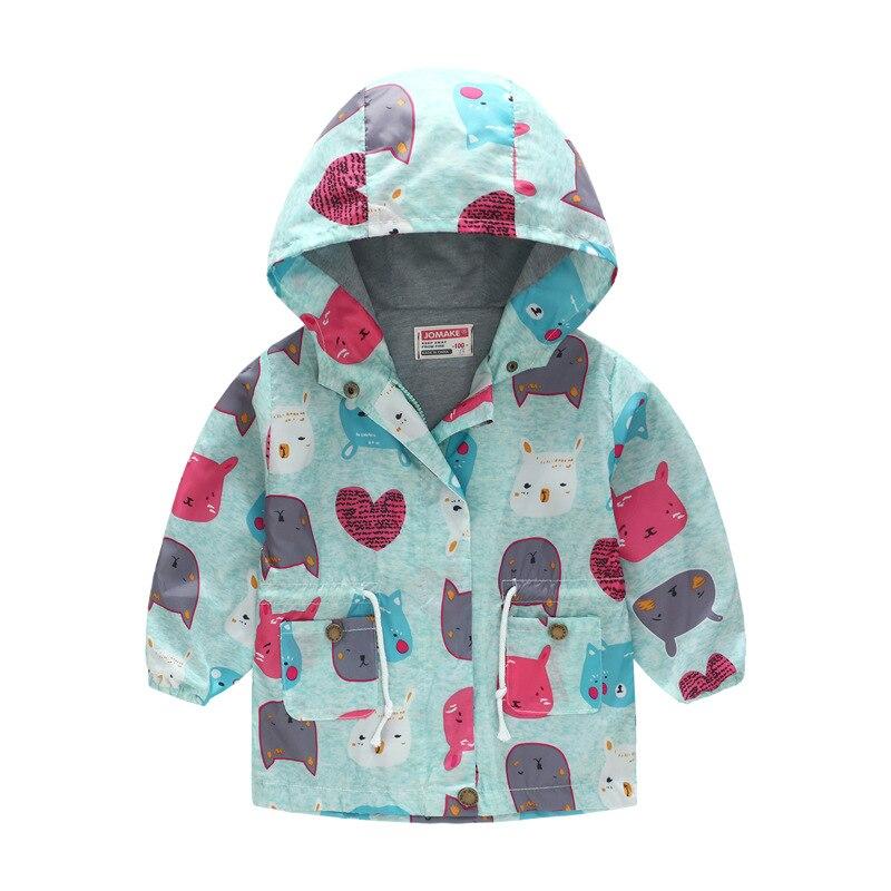 meninas jaqueta casaco criancas outono encapuzados blusao 05