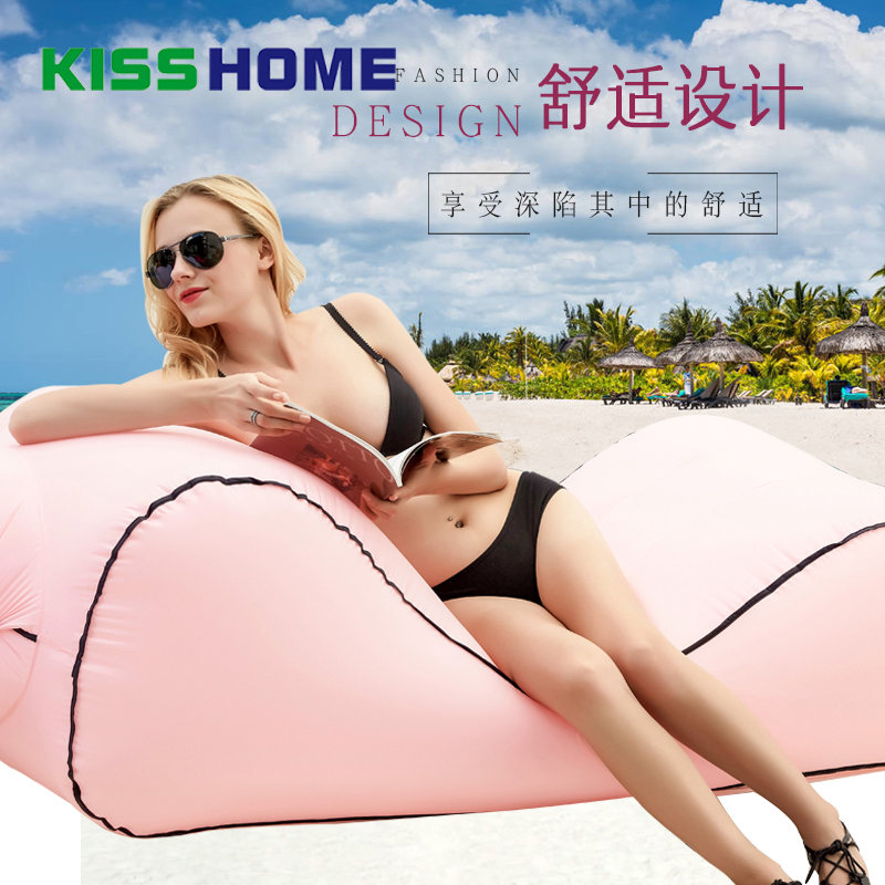 Lounge-Chair Light-Sleeping-Bag Lazy-Sofa Inflatable-Bag Beach Camping Waterproof Fast