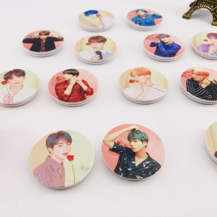 Universal Mobile Phone Bracket KPOP Bangtan Boys Phone Holder Phone Ring Grip Finger Holder JUNG KOOK JIMIN