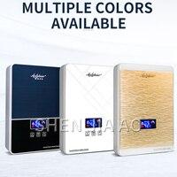 Não-de armazenamento de água aquecedor de água quente instantânea wall-montado casa Mini display digital de freqüência Variável aquecedor de água termostática