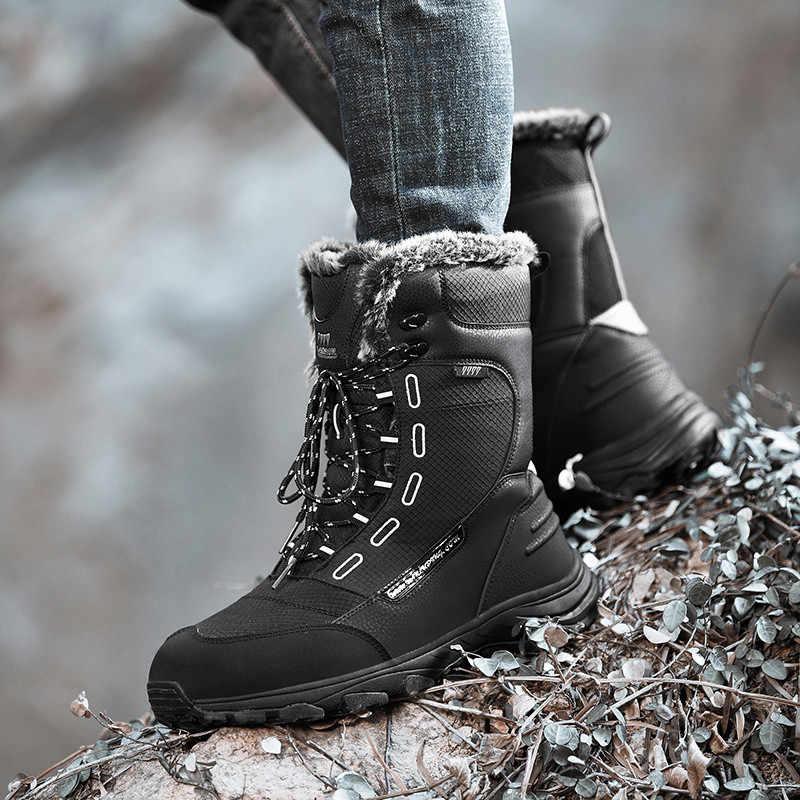 Bộ Sạc Pinsen 2020 Chất Lượng Cao Giày Bốt Nữ Ngoài Trời Giữ Ấm Mùa Đông Ủng Nữ Giữa Bắp Chân Buộc Dây Thoải Mái nữ Giày