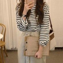Nowy wiosenny Top Sexy T Shirt kobiety elastyczność T-Shirt koreański styl Tee odzież damska wąski T-Shirt kobieta długa, obcisła rękaw topy