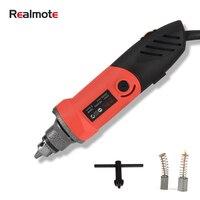 Realmote 500w mini moedor elétrico 6 posição de velocidade variável máquina ferramenta elétrica giratória para moagem gravura polimento