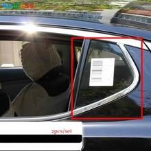 Для KIA K5 Оптима 2011 2012 2013 Третий GE Сталь автомобиля задний треугольник окна автомобиля крышки декоративной отделкой внешние аксессуары