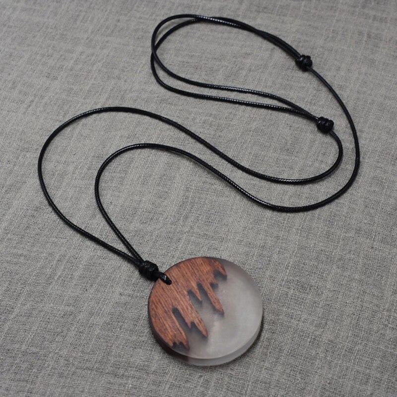 GiftJewelryShop Halloween Wolf Bone Costume Glass Cabochon Rotatable Lucky Pendant Necklace