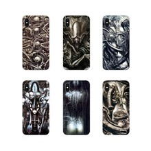 For LG G3 G4 Mini G5 G6 G7 Q6 Q7 Q8 Q9 V10 V20 V30 X Power 2 3 K10 K4 K8 2017 Hr Giger Li II Accessories Phone Cases Covers(China)