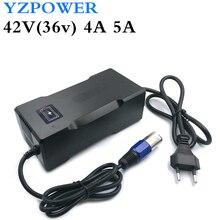 YZ power 42V 4A литий-ионная батарея зарядное устройство для 36V Lipo велосипед Электроинструмент Скутер Аккумулятор