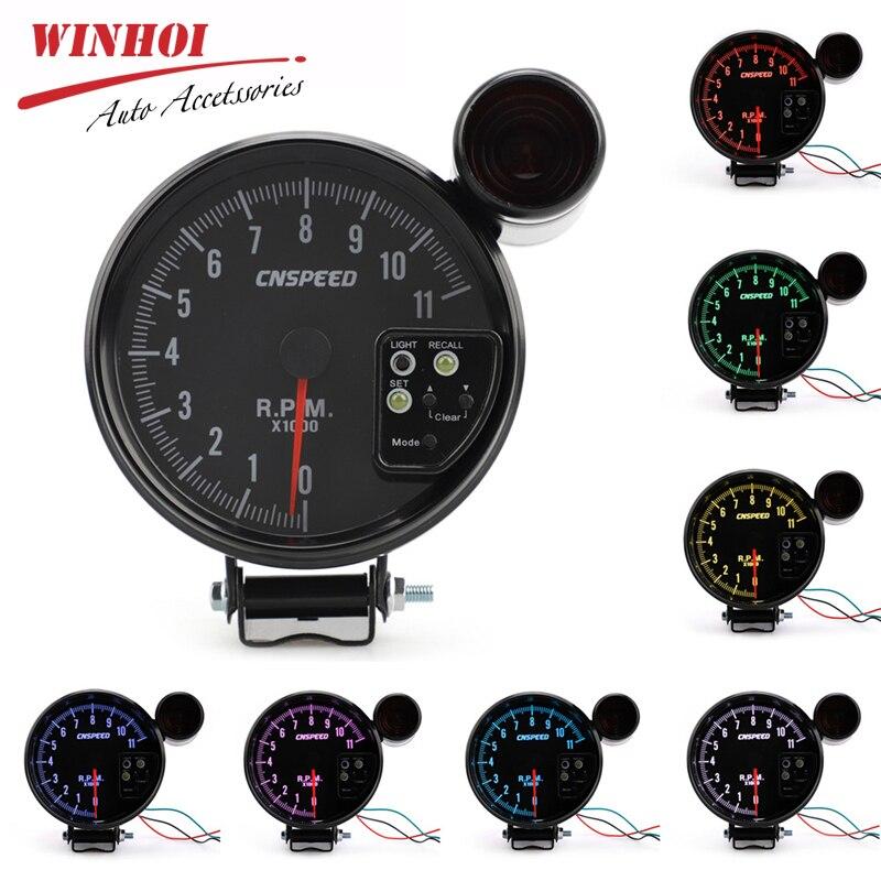 Tachymètre de voiture tr/min avec voyant de vitesse 5