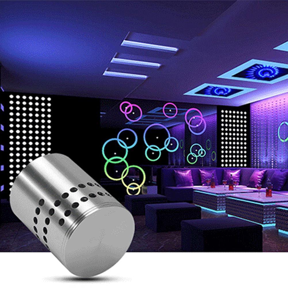 Ac 85 v-265 v 3 w rgb led lâmpada de parede multi-buraco efeito espiral corredor barra de luz de teto decoração de festa