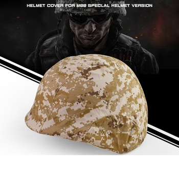 Outdoor Sports Airsoft Gear Helmet Accessory Tactical Camouflage Cloth Helmet Cover for M88 Helmet image