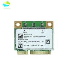 AzureWave AW-CB160H BCM94360HMB BCM94360 Half Mini PCI-express 802.11AC 1300 Мбит/с, беспроводная Wi-Fi WLAN Bluetooth карта