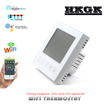 Indoor LCD with WIFI thermostat, can be used with google home control, for floor heating system, relay outputs 3A/16A optional free shipping 2port node onpc with 2 dmx outputs can be combined with onpc command wing and faber wing easy remote configuration
