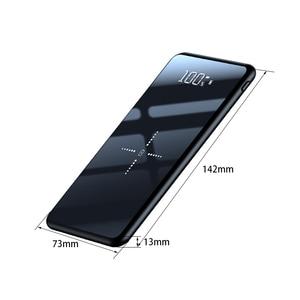 Image 5 - 10000mAh Qi Wireless Charger Power Bank Slim Poverbank ภายนอกแบตเตอรี่ Fast Wireless CHARGING Powerbank สำหรับ Xiaomi Mi 9 iPhone