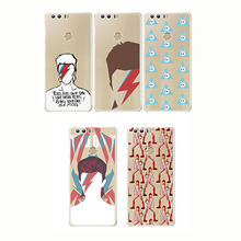 David Bowie Case Blackstar Starman Cool Painting Soft Silicone Transparent TPU for Huawei Honor 9 10 lite Mate 20 pro X