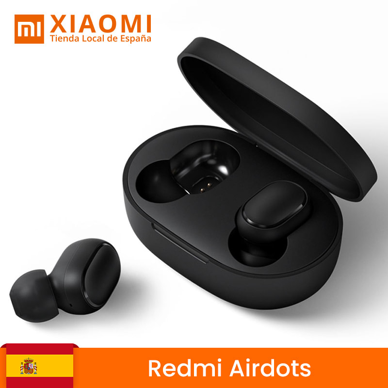 From Spain Xiaomi Redmi Airdots wireless earphone Bluetooth <font><b>TWS</b></font> Bluetooth 5,0 earphone <font><b>12</b></font> hours of sports Auricula image