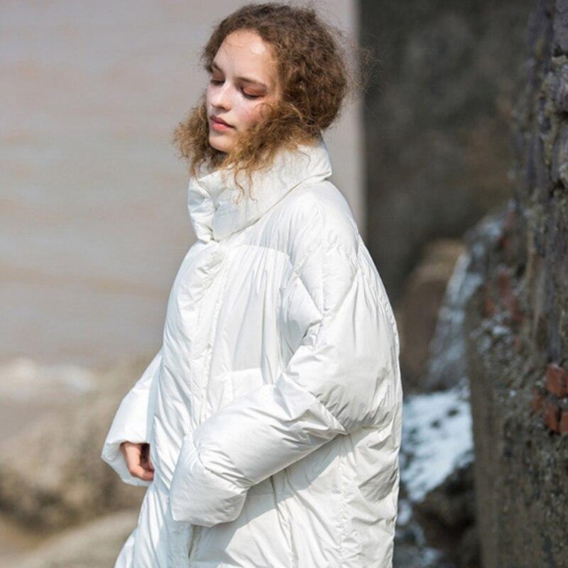 Liva fille hiver épaissir chaud femmes Parka veste Style coréen col montant coton rembourré femmes manteau 2019 vestes femme