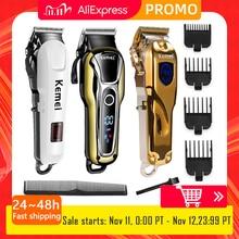Kemeiヘアトリマープロバリカンの毛のトリマー電動散髪機髪の美容師ツール5