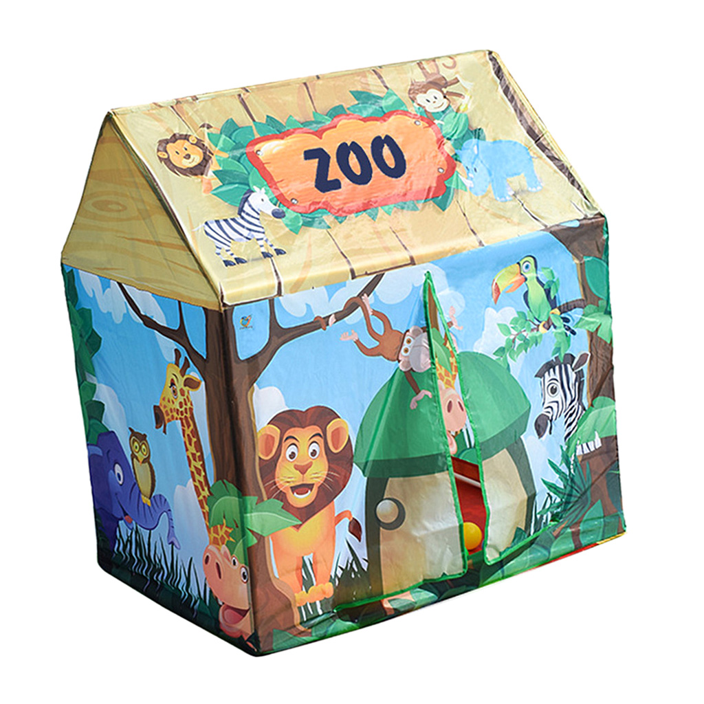 Kids Forest House Themed Tent Playhouse