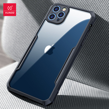 """For iPhone 12 Pro 6.1"""" Case XUNDD Airbag Shockproof Protective Transparent Back Cover for iPhone 12 Pro Max Case"""