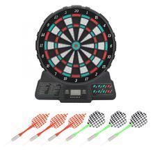 14.6 Cal elektroniczny zestaw gier rzutki rzutki wyświetlacz LCD automatyczne punktowanie Dart płyta punktacji pokładzie z muzyką i dźwiękiem monit