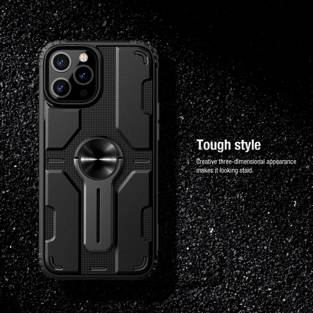 Removable Backrest Alloy Stand Case For iPhone 12 Pro Max  9