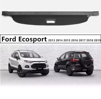 For Rear Trunk Security Shield Cargo Cover For Ford Ecosport 2013 2014 2015 2016 2017 2018 2019 High Qualit Auto Accessories