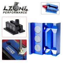 Plaquitas protectoras de mordaza de tornillo de aluminio LZONE - Billet Para accesorios con JR-SLV0304-01 magnético