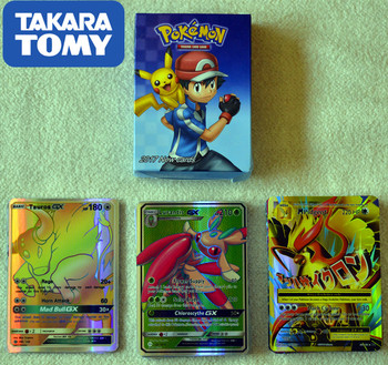 60pcs TAKARA TOMY Pet Pokemon Cards The Newest Style In 2019 Pokemon GX EX Card The Toy of Children Kids Toys 1