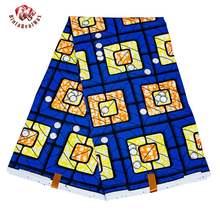 Африканская ткань полиэстер геометрические узоры Анкара шитье