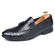 New 2019 British Style Brogue Shoes Leather Men Casual Shoes Fashion B