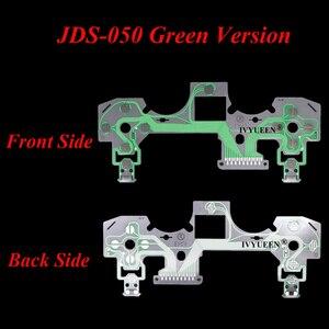 Image 5 - IVYUEEN ل بلاي ستيشن 4 PS4 برو سليم تحكم غشاء موصل لوحة المفاتيح الكابلات المرنة ل Dualshock 4 الشريط لوحة دوائر كهربائية JDS 050
