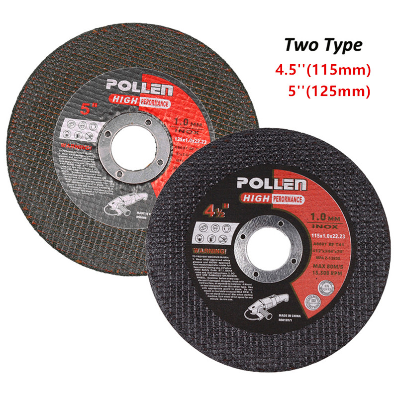 4.5/5 Inch Metal-Cutting Saw Blade Cutting Disc Wheels For Cutting Steel And All Metals Suitable For Most Angle Grinders