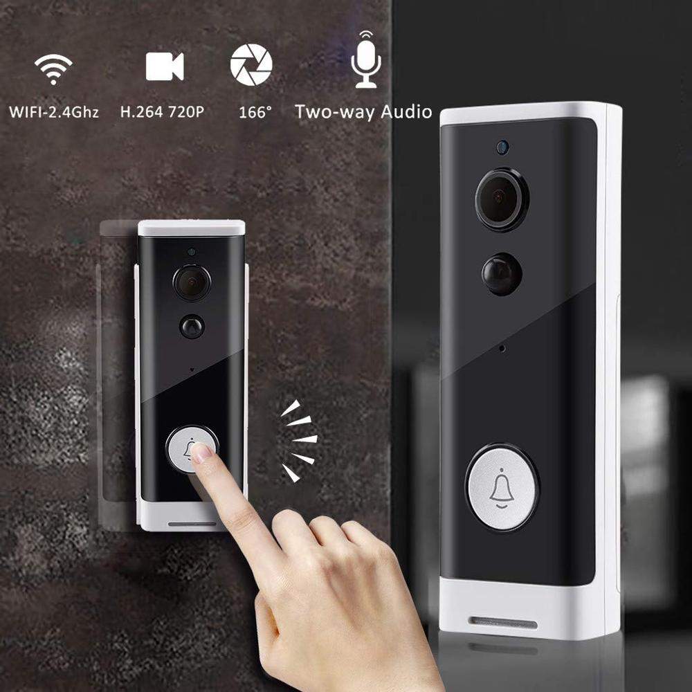 óHot DealsWIFI Doorbell Camera Video Intercom Ir-Alarm Smart Wireless for Apartments IPð