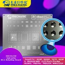 Reballing-Stencil Mechanic Bga iPhone Soldering-Net for 11pro/11pro Max iPad CPU Ic-Chip