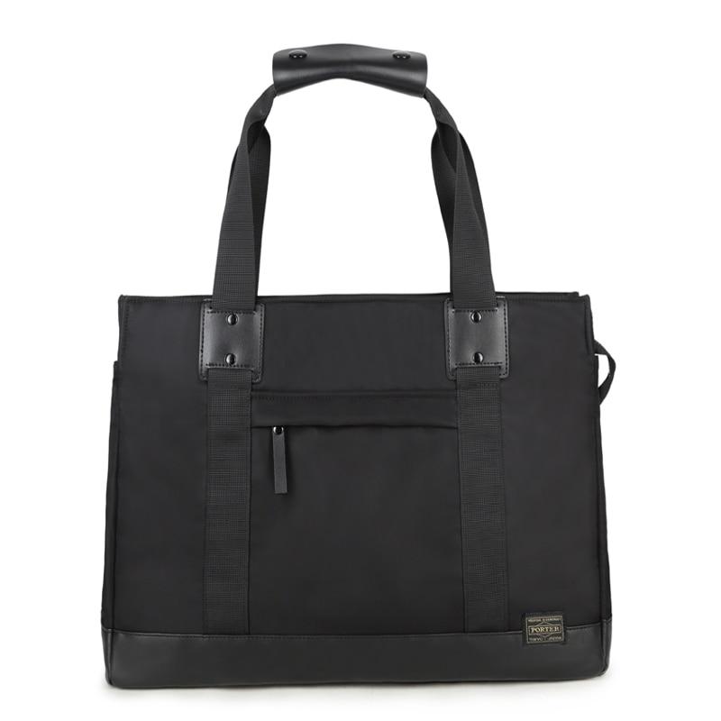 New Head Porter Bags Men Women Unisex High Quality Nylon Head Porter Bag Japan   Briefcase Waterproof 42/33/14CM