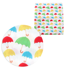 Dress Cotton-Fabric Tissue Patchwork for Kids Home-Textile Flower-Umbrella Sewing-Doll