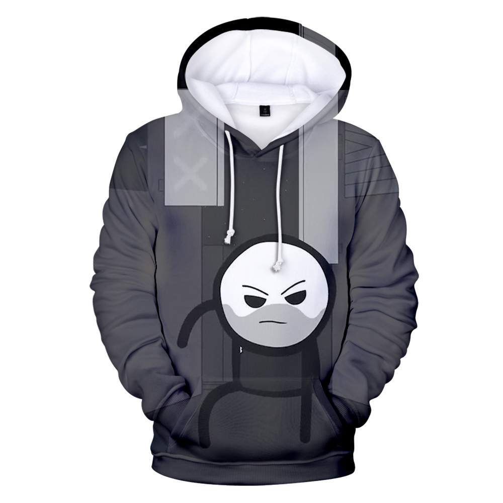 The Cyanide & Happiness Show Hoodie in men/women Sweatshirt long sleeve Pullovers Autumn high quality popular kids 3D hoodies image