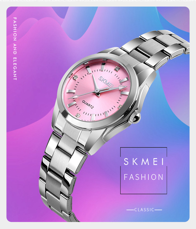 H67bb4489f7d74700bbfdd3461c3d7ce9g 2020 SKMEI Casual Women Romantic Quartz Watches Luxury Female Girl Clock Waterproof Ladies Wristwatches Relogio Feminino 1620