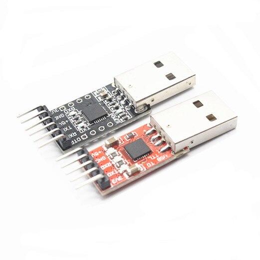 1 шт., серийный преобразователь CP2102 USB 2,0 в модуль TTL UART, 6 контактов, замена STC FT232