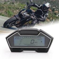 Uniwersalny prędkościomierz motocyklowy Rpm prędkość miernik paliwa 199 km/h Mph Diy przebieg w Rękawiczki rowerowe od Sport i rozrywka na